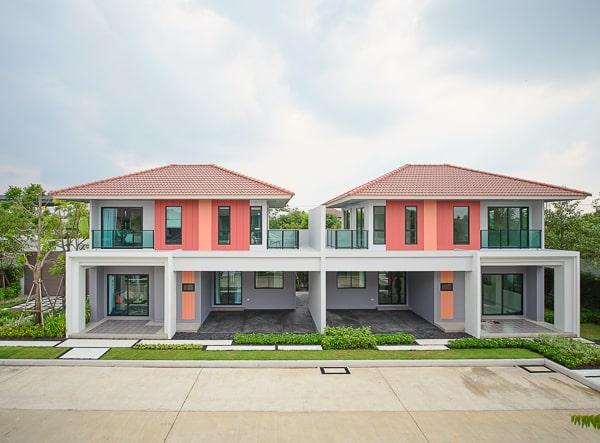 รีวิวโครงกาารบ้านแฝด