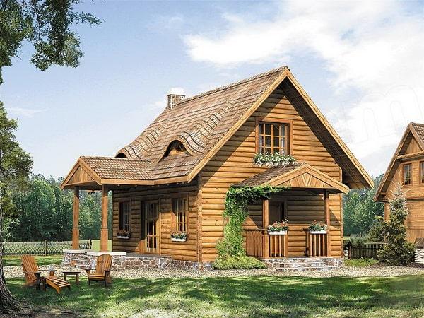 แนวทาง บ้านไม้สไตล์ยุโรป