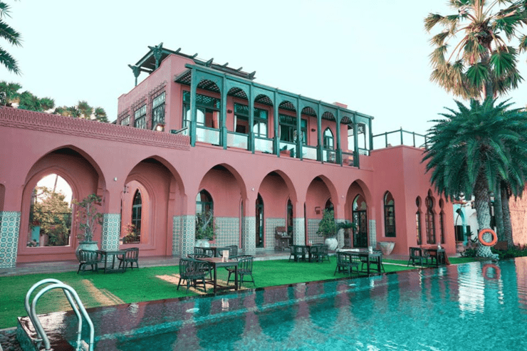 แนะนำที่พัก villa maroc