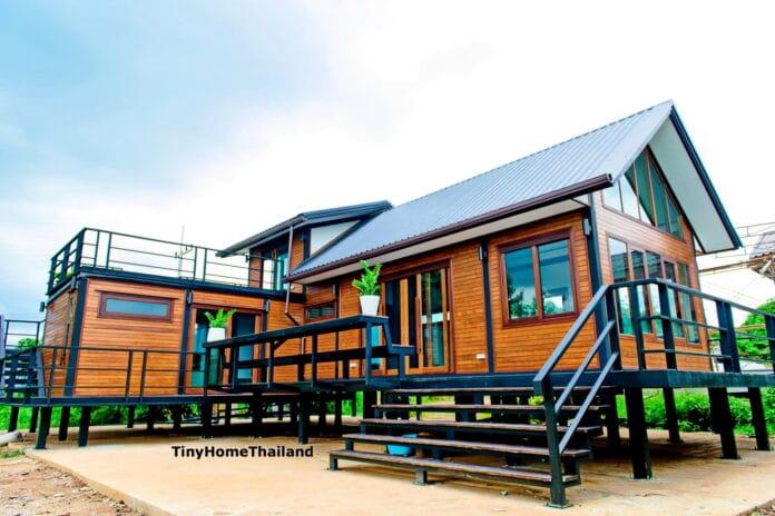 บ้านไม้โครงสร้างเหล็กสไตล์นอร์ดิก